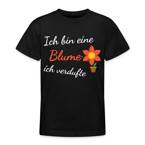 Blume Garten Gärtner Florist Shirt Geschenk - Teenager T-Shirt