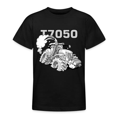 0846 NH T7050 gray - Teenager T-shirt