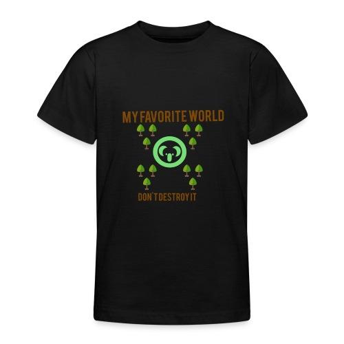 My world - Camiseta adolescente