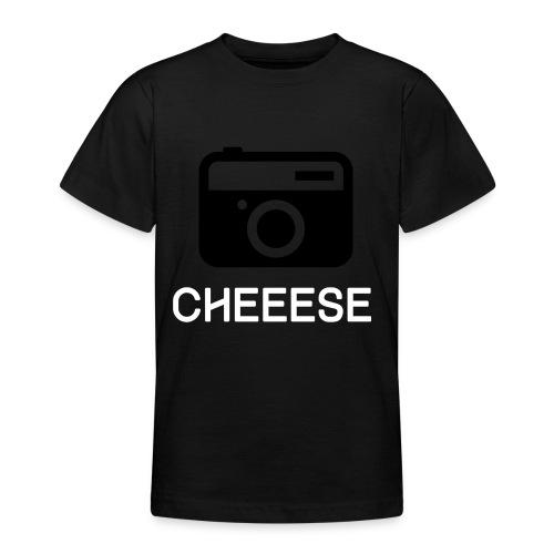 Cheese Fotograf Kamera - Teenager T-Shirt