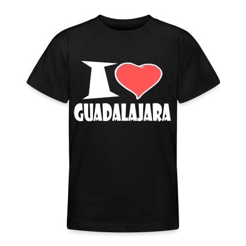 I love Guadalajara - Teenager T-Shirt
