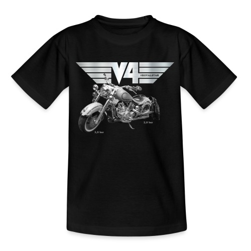 Royal Star silver Wings - Teenager T-Shirt