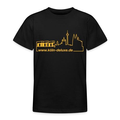 www köln deluxe de Aufkleber - Teenager T-Shirt