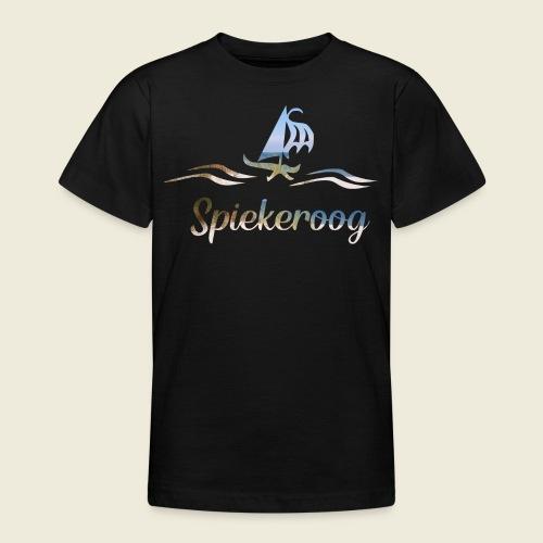 Spiekeroog Nordsee Urlaub Strand Meer - Teenager T-Shirt