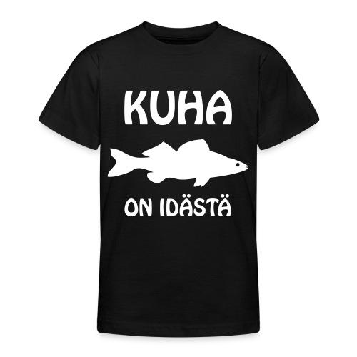 KUHA ON IDÄSTÄ - Nuorten t-paita