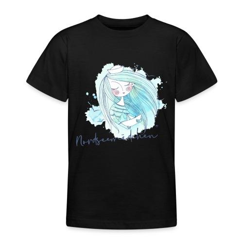 Nordseemädchen Papierboot - Teenager T-Shirt