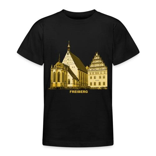 Freiberg Sachsen Dom Silbermann Orgel Erzgebirge - Teenager T-Shirt