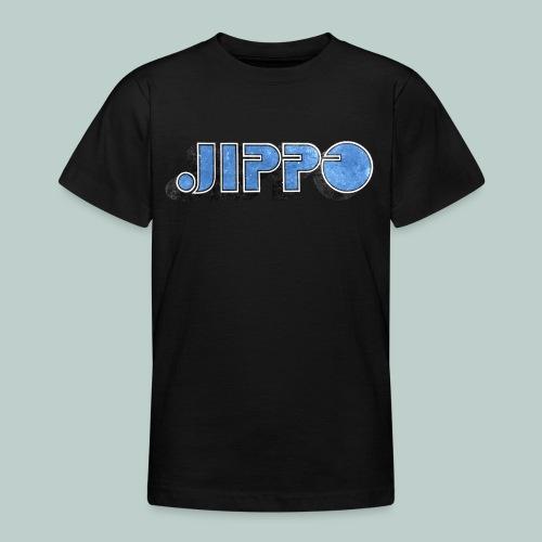 JIPPO LOGO (blue) - Nuorten t-paita