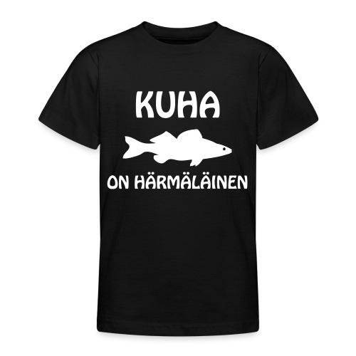 KUHA ON HÄRMÄLÄINEN - Nuorten t-paita