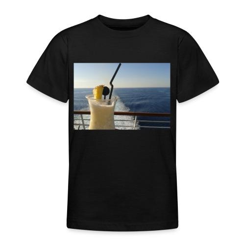 Cocktail Kreuzfahrt Meer Foto Schiff Ananas - Teenager T-Shirt