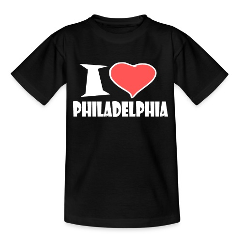 I love Philadelphia - Teenager T-Shirt