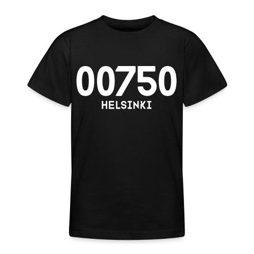 00750 HELSINKI - Nuorten t-paita