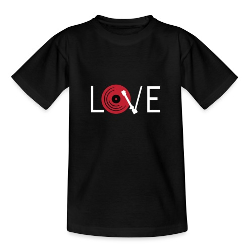 Love vynil - Maglietta per ragazzi