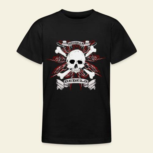 skull - Teenager-T-shirt