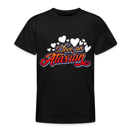 Jeg elsker en ataksisk - T-skjorte for tenåringer