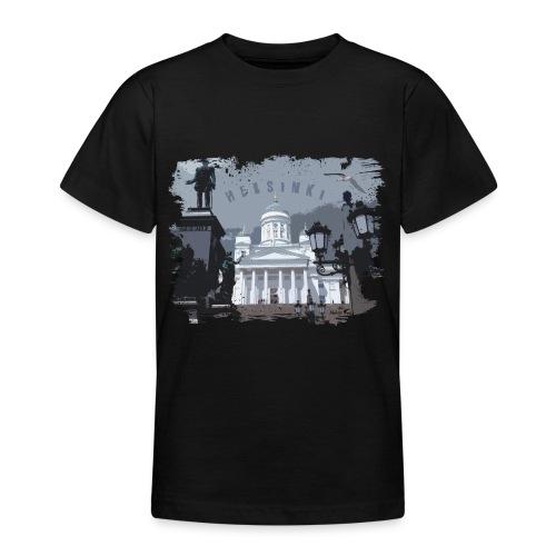 Helsinki tuomiokirkko T-paidat, hupparit, tuotteet - Nuorten t-paita