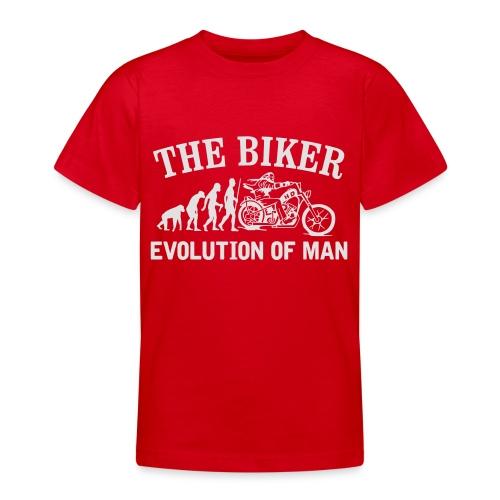 Evolution of man - Camiseta adolescente