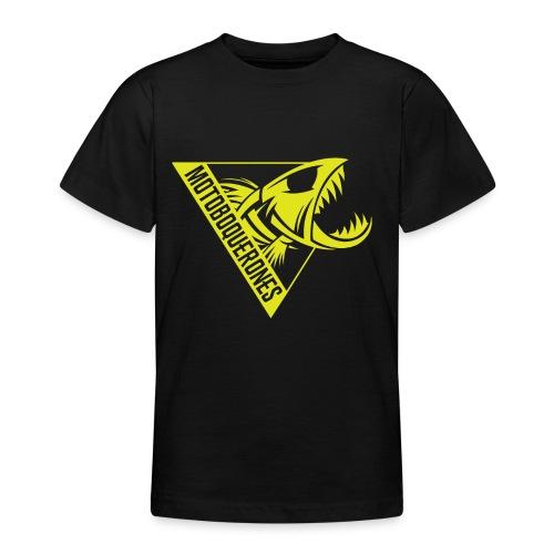 Logo Motoboquerones amarillo - Camiseta adolescente