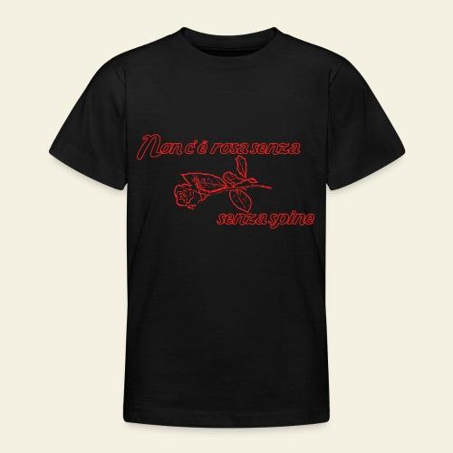 rose - Teenager-T-shirt