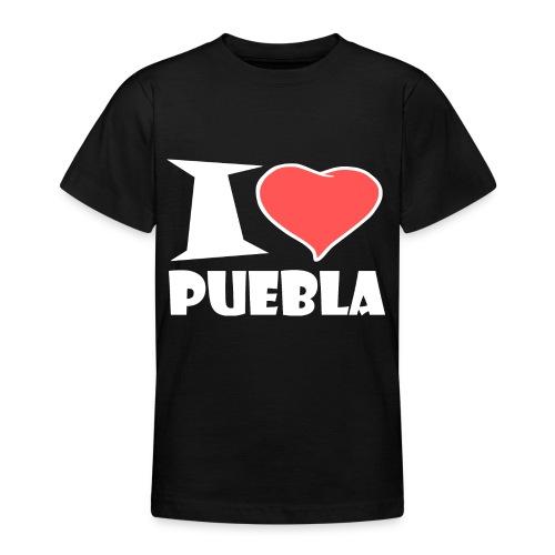 I love Puebla - Teenager T-Shirt