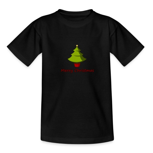 Merry Christmas Design von HoHoHo Merch - Teenager T-Shirt