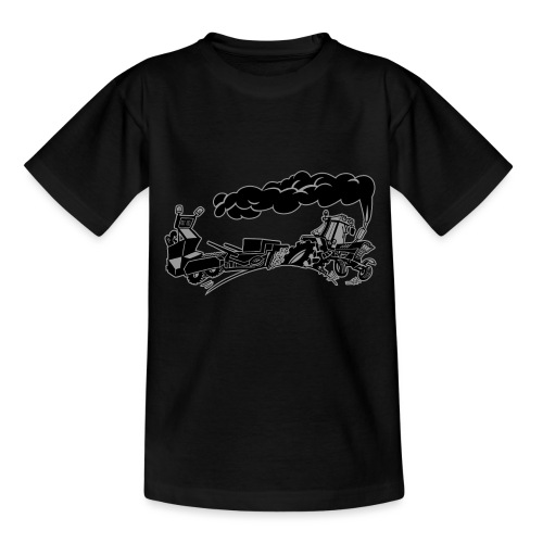 Pulling IH duotone - Teenager T-shirt