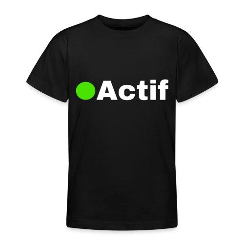 actif messenger - T-shirt Ado