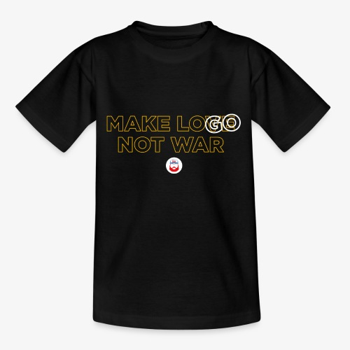 Make LOGO not WAR - Maglietta per ragazzi