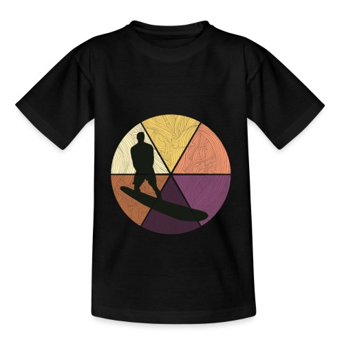 Wellenreiten - Teenager T-Shirt