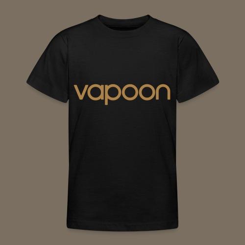 Vapoon Logo simpel 01 - Teenager T-Shirt