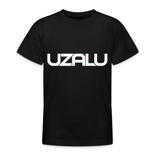 uzalu Text Logo - Teenage T-Shirt