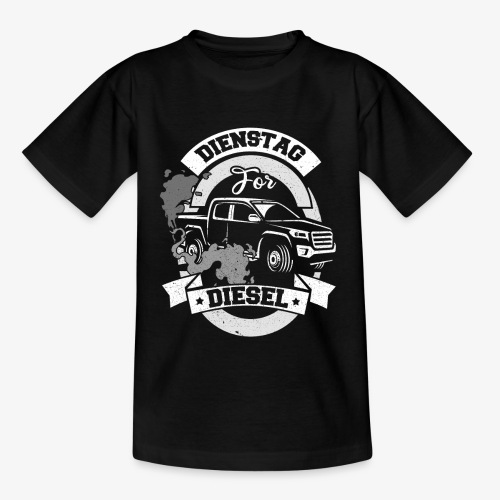 Dienstag for Diesel Fridays for Hubraum Klimakrise - Teenager T-Shirt