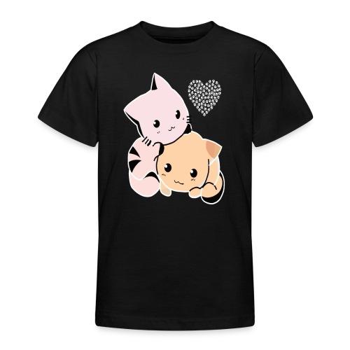 Süsse Kitten - Teenager T-Shirt