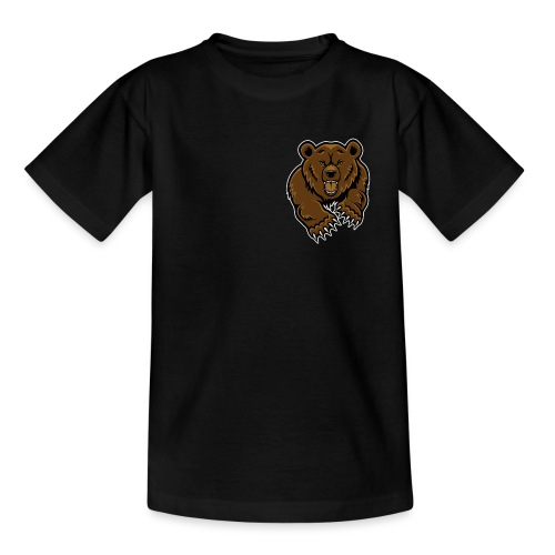 grizzly bear clip art 271767 png - Teenage T-Shirt