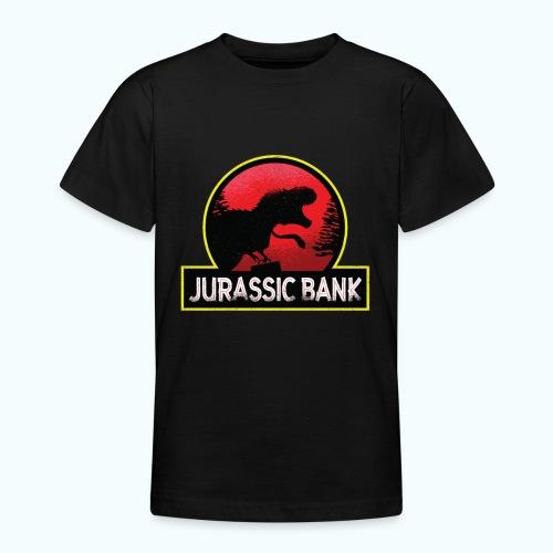 Jurassic Bank Bankster - Teenage T-Shirt