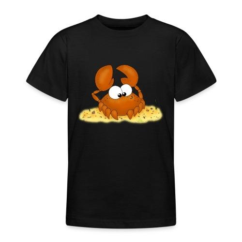 Strandkrabbe - Teenager T-Shirt