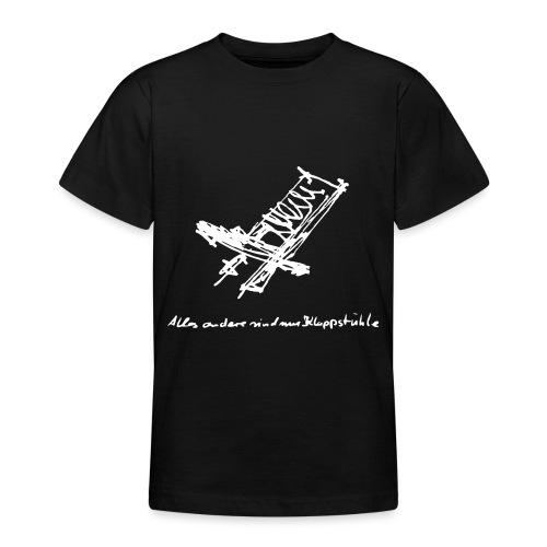 Schwedenstuhl - Teenager T-Shirt