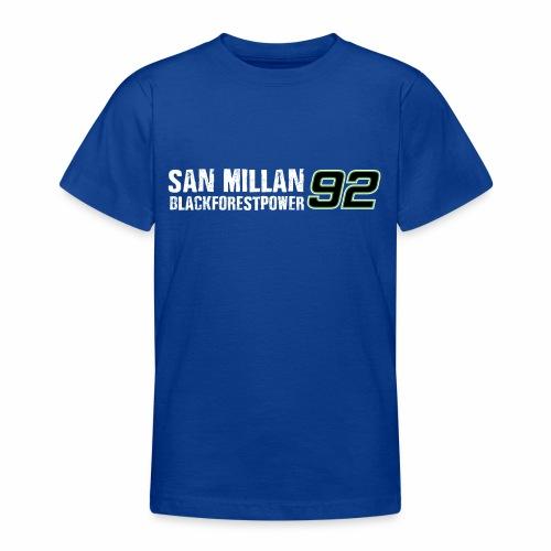 San Millan Blackforestpower 92 - vorne und hinten - Teenager T-Shirt