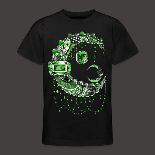 Lune dentelle Verte - T-shirt Ado