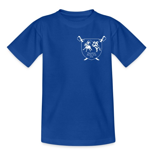 logo miekallinen vastaväri - Nuorten t-paita