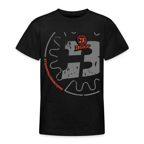 BUKK SPSHIRT maviensutkahville orange - Nuorten t-paita