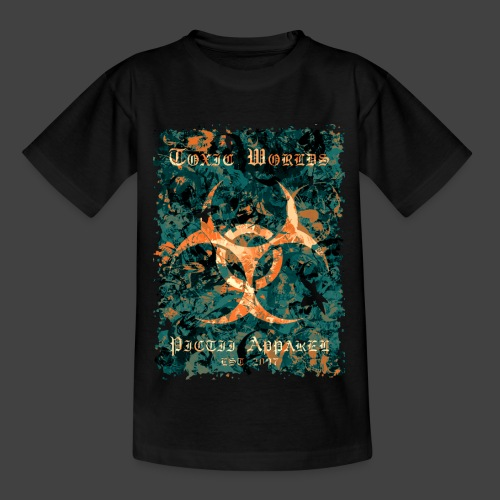 TOXIC WORLDS - 4B - Teenage T-Shirt