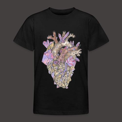 Le Coeur de Cristal Couleur - T-shirt Ado