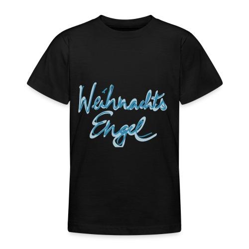 Weihnachtsengel mit Flügel - Teenager T-Shirt