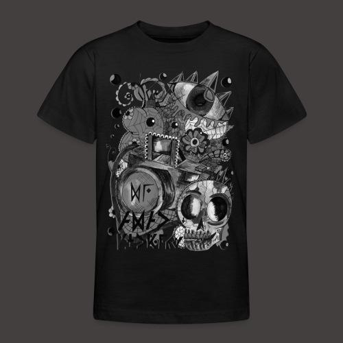 AGAC Picture Noir et Blanc - T-shirt Ado