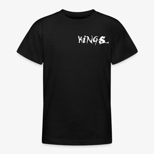 kings logo 3 png - Teenager T-shirt
