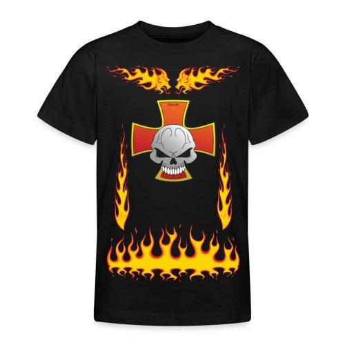 FireDragon Chopper - Teenage T-Shirt