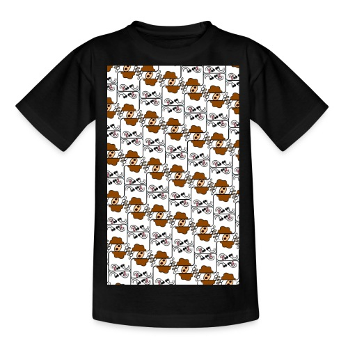 Cow Matrix - Teenage T-Shirt