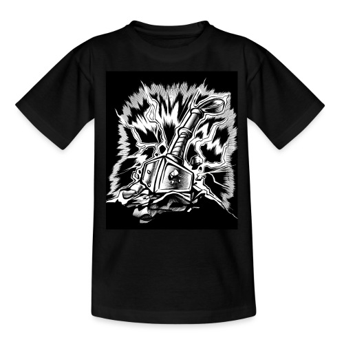 Odin Wikinger Hammer Design - Teenager T-Shirt