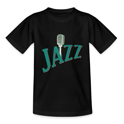 Jazz Mikrofon - Teenager T-Shirt